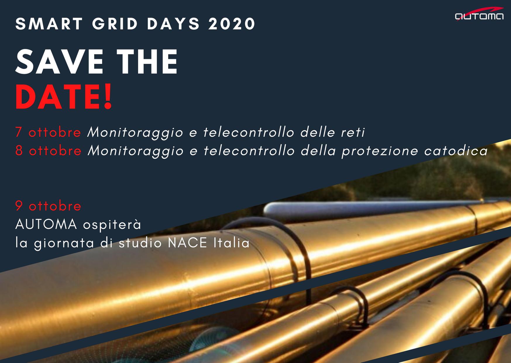 SMART GRID DAYS 2020: the AUTOMA annual event is back